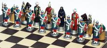 Crusades Chess Set: Saladin side: