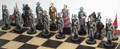 American Civil War Chess Set: Confederate side