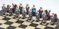 The Three Musketeers Chess Set: The King's side