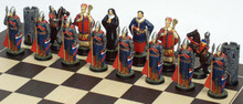 Robin Hood Chess Set: Sheriff of Nottingham Side