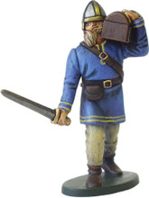 Vikings carrying treasure