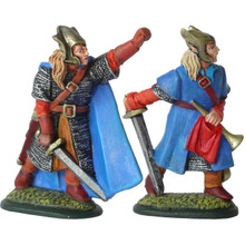 High Elf Command - Captain & Hornist