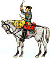 English 2nd Cavalry Regiment 1751