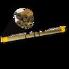 "Brass Single Channel EDM Tubes - 300mm (12"") (70113)"