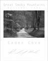 Smoky Mountains Poster - Cades Cove Sparks Lane Black & White