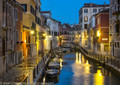 Evening on the Canals of Venice