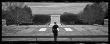 Arlington National Cemetery, the Tomb of the Unknown Soldier.