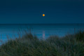 Moonrise, Gilson Beach, Lake Michigan