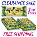 Top Banana Coconut Bars TWO 24 ct Trays