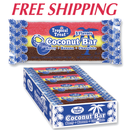 Tropical Treat Coconut Bars 24 count tray
