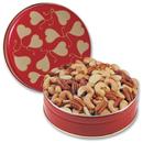 Heart Tin Mixed Nuts 1lb