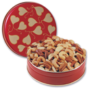 Heart Tin Mixed Nuts 2lb