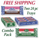 COMBO Neapolitan & Marias                TWO  24 count trays