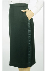 Women's Tuxedo Skirt
