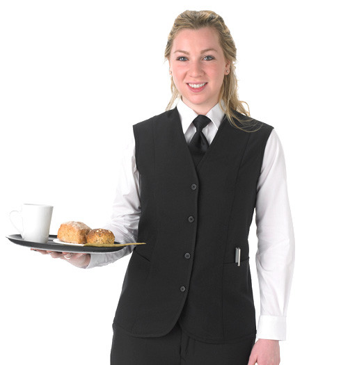 Ladies Tunic Waitstaff Vest