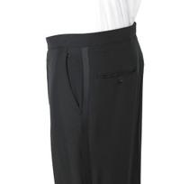 Flat Front Mens Tuxedo Pants