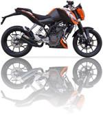 IXIL L3XB HYPERLOW BLACK EXHAUST KTM DUKE 125 2011-2016