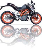 IXIL L3XB HYPERLOW BLACK EXHAUST KTM DUKE 390 2012-2016