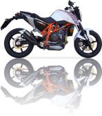 IXIL L3XB HYPERLOW BLACK EXHAUST KTM DUKE 690 2012-2016
