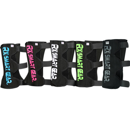 Rx Smart Gear Shin Guards  (Blue or Pink are available in the Small size- Fits Calves 11-15 inches)  (White or Green are available in the Medium- Fits Calves 13-17 inches)  (Gray are available in the large - Fits Calves 17-20 Inches)