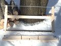 "Pole and Paddle Folding Buck Saw 24"" Bahco blade"