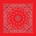 Bandana 100% cotton U.S.A. red