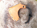 "Leather Axe Sheath Mask 3 1/2"" Blade Width"