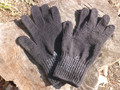 Military Wool Glove Liner Size 4 M Black