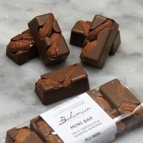 Bohemein Sugar Free Almond Milk Chocolate Mini Bar