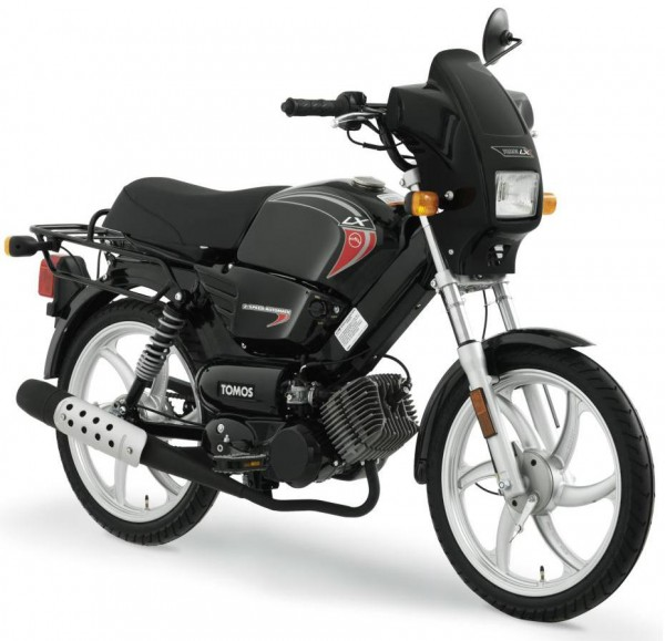 Tomos A55 LX Moped Spare Parts Manual