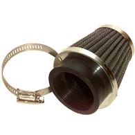 35mm Chrome Metal Mesh Air Filter, TOMOS A55 PHVA, PHBG