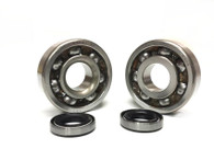 SKF Motobecane Engine Bearings and Seals Set - 6302
