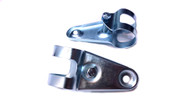 Chrome Universal Headlight Bracket set - Small