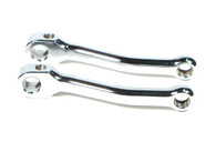 NOS Chrome Pedal Arm Set - Fits Multiple Mopeds