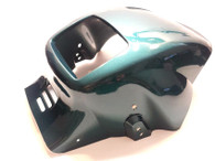NOS Tomos Headlight Fairing - Deep Sea Green