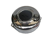 Puch Moped Flywheel Cover - Chrome with Black Emblem