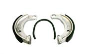 NOS Tomos Brake Shoe Set 90mm x 18mm, Circle End -Single Spring