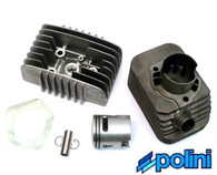 Vespa  41mm Polini Cylinder Kit with Bravo Head,   12mm pin