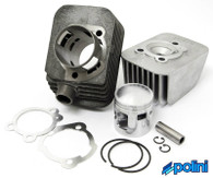 Vepsa  Polini 46mm 70cc Cylinder Kit with Ciao Head,  *12mm pin*