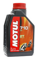Motul 710 2T  Full Synthetic Two Stroke OIl, 1 Liter
