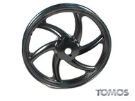"Disc Brake 16"" Black Front Wheel Tomos Streetmate  237003"
