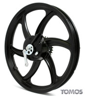 "16"" Black Rear Wheel Tomos Streetmate  237004"