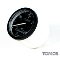 OEM Tomos A35 Speedometer, Black Face Pre 01/03 Models   227496