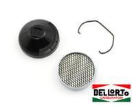 Original Dellorto SHA Air Filter, Cover and Clip