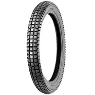 Shinko SR241 2.50 x 17 Trials style tire.