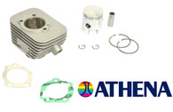 Vespa 46mm 75cc Athena Cylinder Kit w/ 12mm wrist pin