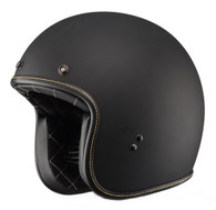 Fly Racing Retro  .38 Helmet, Matte Black
