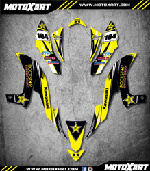 QUAD ATV Full custom graphics kit HORNET Style Sticker Kit