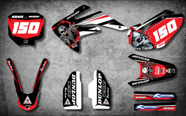 CRF 150 CREEPER style full kit