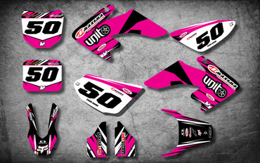 CRF 50 DIGGER PINK style full kit